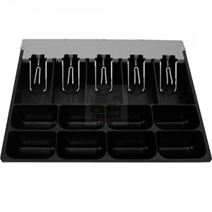 Cash Drawer Insert Tray Ec  Coin Black