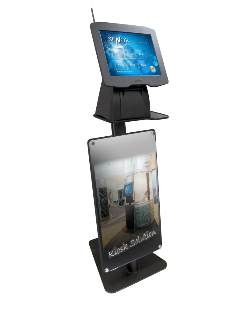 Senor Ispos Wp Kiosk Stand Qcj1900 15 Quot Touch Screen Pos